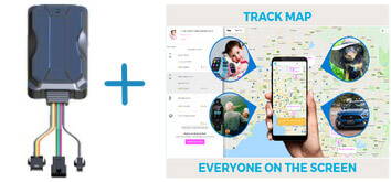 Car Buddy and Track Map Image